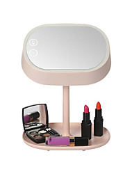 cheap -Mart Lighted Makeup Vanity Mirror with Table Lamp for Bedroom Home Decor Mint
