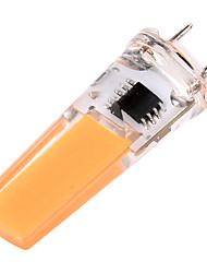G8 Luci da arredo T 1 leds COB Oscurabile Decorativo Bianco caldo Luce fredda 400-500lm 2800-3200/6000-6500K AC 220-240 AC 110-130V