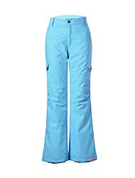 Gsou NIEVE® Ropa de Esquí Pantalones/Sobrepantalón Mujer Moda de Invierno Poliéster Ropa de InviernoImpermeable / Transpirable / Mantiene