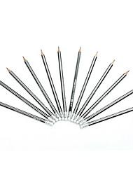 cheap -Pencil Pen Pencils Pen, Wood Black Ink Colors For School Supplies Office Supplies Pack of