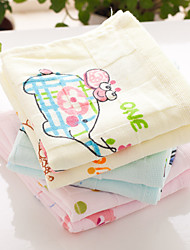 "Full Cotton Wash Towel Cartoon Pattern Super Soft 18"" by 36"""