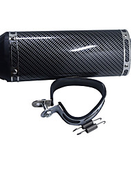 cheap -38MM Dirt Pit Bike Motorcycle Exhaust Muffler With Silencer Clamp Carbon