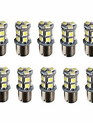 cheap -10pcs 1156 13SMD 5050 White Color Brake Tail Turn Signal Light Bulb Lamp Auto Led Car Bulb Light (12V)