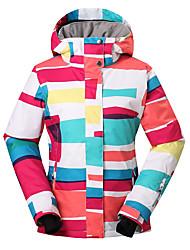 cheap -GSOU SNOW® Ski Wear Ski/Snowboard Jackets Women's Winter Wear Polyester Winter ClothingWaterproof / Breathable / Thermal / Warm /