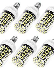 abordables -E14 E26/E27 Ampoules Maïs LED T 108 diodes électroluminescentes SMD 5733 Décorative Blanc Chaud Blanc Froid 950lm 3000/6000K AC 100-240V