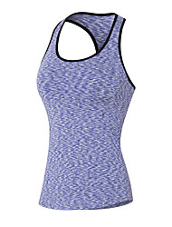 preiswerte -Damen Ringer-Rücken-Kleid Funktions-Unterhemden - Rot, Grün, Blau Sport Sweatshirt / Tank Tops Yoga, Fitness, Fitnessstudio Sportkleidung Rasche Trocknung, Atmungsaktiv, Videokompression