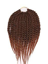 12 16 20 24 inch ombre havana mambo twist Kanekalon Braiding Hair Havana Mambo Twist Crochet