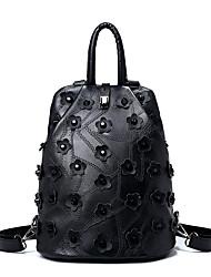 povoljno -Žene Torbe PU ruksak Navlaka za Kauzalni Zima Sva doba Crn