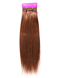 cheap -1PC TRES JOLIE Remy Yaki 14Inch Color 30 Human Hair Weaves