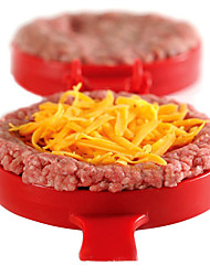 cheap -DIY Plastic Hamburger Meat Beef Grill Burger Press Patty Maker Mold Mould KitchenStufz Machine Patties