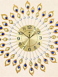 cheap -Modern/Contemporary Metal Round AA Wall Clock