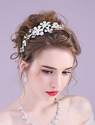 Rhinestone Alloy Headbands Wreaths Headpiece