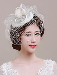 cheap -Tulle Basketwork Net Fascinators Headpiece Classical Feminine Style
