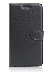 Недорогие -Кейс для Назначение Alcatel Кейс для Alcatel Бумажник для карт / со стендом / Флип Чехол Сплошной цвет Твердый Кожа PU для Alcatel PIXI 4 (3.5) / Alcatel PIXI 4 (5) OT5045X / Alcatel One Touch Flash 2