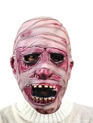 spaventoso Halloween mummia maschera Haloween maschere per il viso payday terrore diavolo cosplay masque ecofriendly lattice