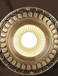 cheap -5 Spot Light ,  Vintage Brass Feature for Designers Metal Living Room / Study Room/Office