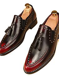 cheap -Men's Oxfords Casual/Party/Office & Career/Drive Fashion Casual PU Leather Rivet Shoes EU38-EU43
