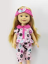 Недорогие -Sharon наборы 16-дюймовых одежды куклы платье принцессы шляпа моды аксессуаров одежды три цвета свободной ребенка