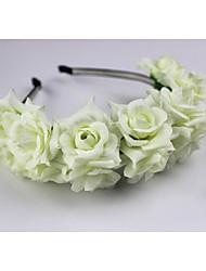 Недорогие -ткань головные уборы головной убор свадебная вечеринка элегантный женственный стиль