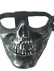 Mask 1pc Masquerade Masks Special / Cool One size Grey Polyester