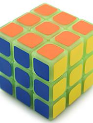Недорогие -Кубик рубик YongJun 3*3*3 Спидкуб Кубики-головоломки головоломка Куб профессиональный уровень Скорость Сияние в темноте Лампа дневного