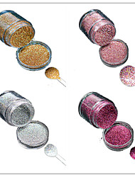 cheap -1 Bottle Nail DIY Beautiful Color Colorful Laser Glitter Powder Nail Beauty Decoration L01-04
