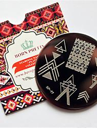 Stamping Nail Art Plate Stampere škrabka 6*6*0.1