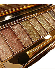 9 Colors Eyeshadow Palette Women Diamond Bright Shining Colorful Makeup Eye Shadow Flash Glitter Make Up Set With Brush