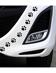 cheap -The Puppy Sticker Footprints Car Decorative Sticker Car Decorative Block Scratch Scratch Stickers Cover Personality
