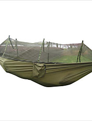 cheap -Camping Hammock with Mosquito Net Outdoor Portable, Moistureproof, Anti-Insect for Hunting / Hiking / Camping - 2 person Green / Yellow /