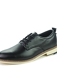 cheap -Men's Dress Shoes Faux Leather Spring / Summer / Fall Comfort Oxfords Walking Shoes Slip Resistant Black / Brown / Green / Wedding / Party & Evening