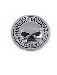 Недорогие -авто черепа Харли личности наклейка, металлический каркас тела паста ,,