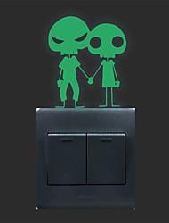 AYA™ DIY Luminous Stickers Super Bright Glow in the Dark Switch Sticker Wall Decor