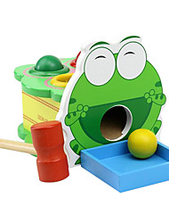 cheap -Hammering / Pounding Toy Balls Gopher Game Family Game Baby & Toddler Toy Toys Fun Education Wooden Wood Pieces Children's Birthday Gift