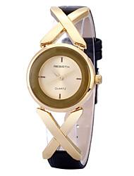 levne -REBIRTH Dámské Křemenný Náramkové hodinky / Žhavá sleva PU Kapela Na běžné nošení Módní Černá