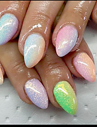 cheap -1PC  Nail Art beauty  Fish Meal Golden Onion Iridescence Glitter 10g Bags Five Color Optional