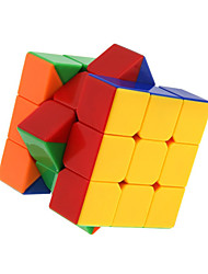 cheap -Rubik's Cube Zhanchi 5 55mm 3*3*3 Smooth Speed Cube Magic Cube Puzzle Cube Professional Level Speed ABS Square New Year Children's Day