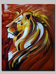 billige -Hånd-malede Dyr Vertikal,Moderne Et Panel Kanvas Hang-Painted Oliemaleri For Hjem Dekoration