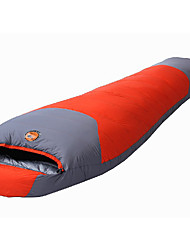 Sleeping Bag Mummy Bag Single -10 Duck Down Keep Warm Compression 220X80 Hiking Camping SAMCAMEL®