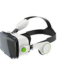 caixa de vr óculos 3d capacete de realidade virtual com fone de ouvido bluetooth