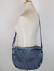 Women Bags Canvas Shoulder Bag with for Casual Outdoor Navy Blue