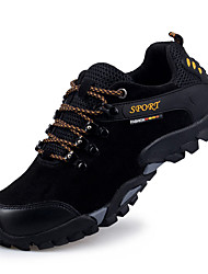 Men's Sneakers Spring / Fall / Winter Comfort  / Casual Flat Heel Lace-up Black / Blue / Yellow / Gray Sneaker