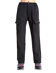 preiswerte -Damen Softshellhosen Außen warm halten / Windundurchlässig / Fleece Innenfutter Winter Hosen / Regenhose / Unten Skifahren / Camping &