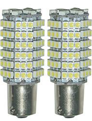 2pcs 1156 3528 120smd portato auto volta coda di sostegno di inverso luce di parcheggio ha condotto la lampada della luce (DC12V)