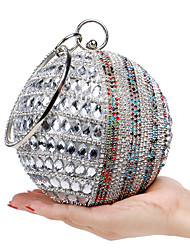 cheap -Women's Bags Polyester Evening Bag Crystal/ Rhinestone Acrylic Jewels for Wedding Event/Party Shopping Casual Formal Office & Career