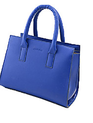 cheap -Women's Bags PU Tote Zipper Beige / Red / Blue