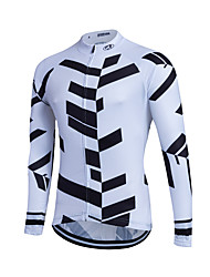 economico -Fastcute Maglia da ciclismo Per uomo Per donna Bambini Unisex Manica lunga Bicicletta Felpa Maglietta/Maglia Top Abbigliamento ciclismo