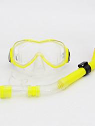 cheap -Diving Masks Snorkeling Packages Snorkels Snorkel Set Anti-Fog Adjustable Diving / Snorkeling PVC silicone