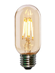 abordables -1pc 4w e27 t45 edison style antique led filament ampoule tubulaire (220-240v)