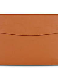 "cheap -Sleeve for MacBook Air 13.3"" Solid Color Genuine Leather Material Luxury Slim Leather Computer Bag Series"